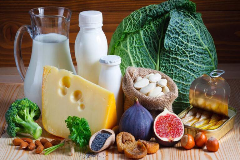 Los alimentos ricos en calcio